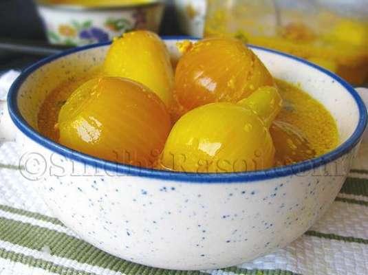 Achar Pyaz Recipe In Urdu