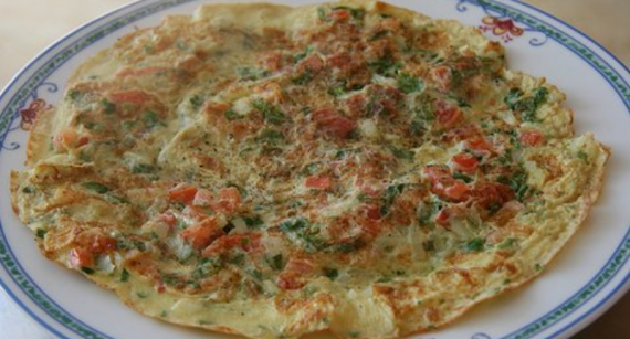 Vampo Omelette Recipe In Urdu