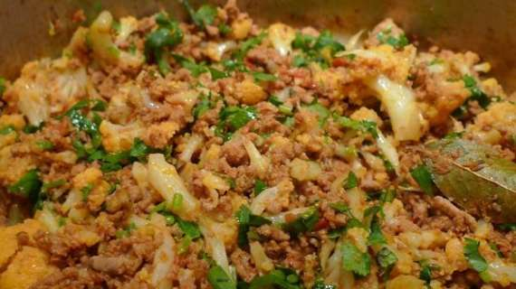 Chawal Aur Keema Mirchain Recipe In Urdu