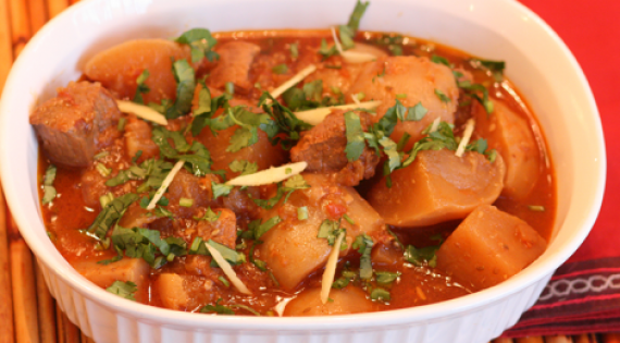 Gosht Shalgam Recipe In Urdu