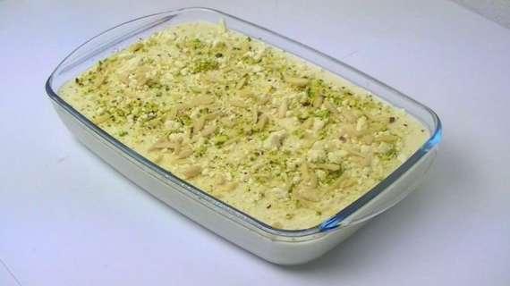 Apple And Porridge Pudding Recipe In Urdu