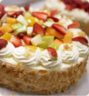 Fruit Salad Cake Recipe In Urdu