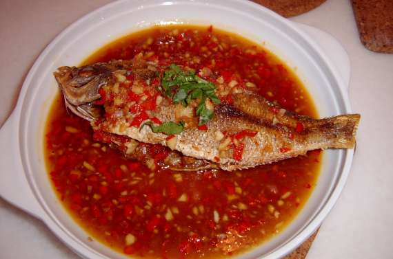 Fish With Chilli Sauce Recipe In Urdu