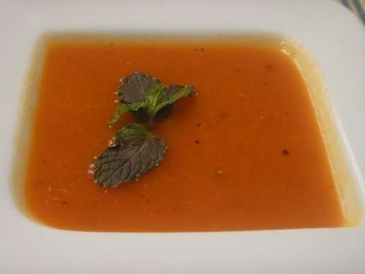 Tamatar Dhania Soup Recipe In Urdu