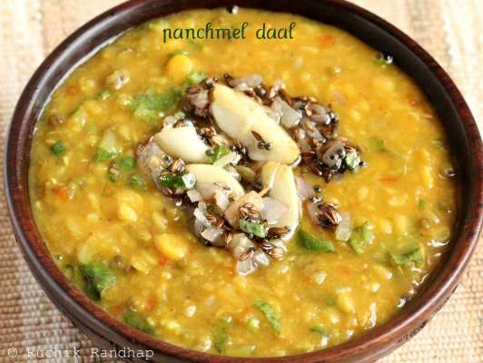 Rajhastani Panj Meel Dal Recipe In Urdu