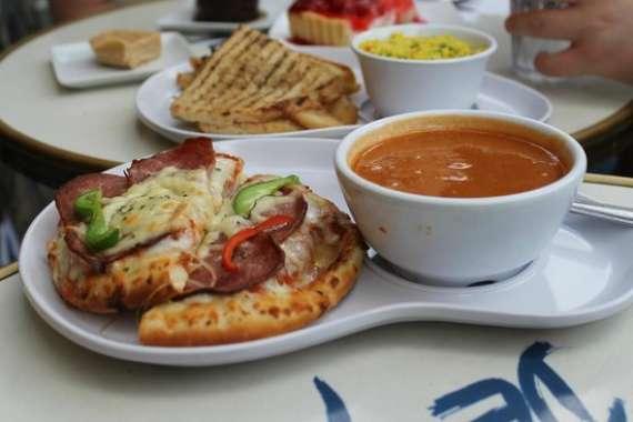 Pizza And Carrot Soup Recipe In Urdu