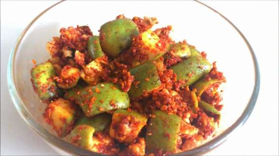 Dry Mango Pickle Recipe In Urdu