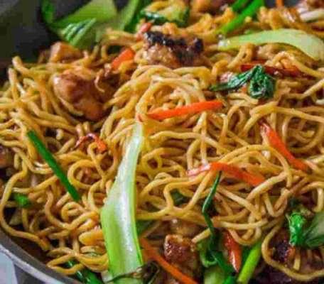 Chicken Noodles Recipe In Urdu