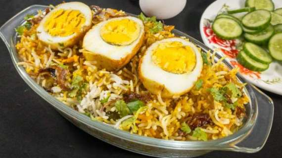Ande Chole Ki Biryani Recipe In Urdu