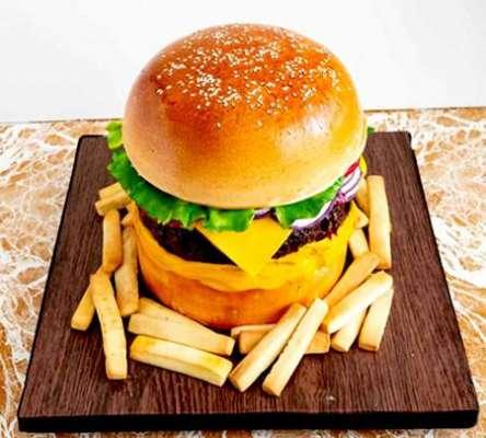 Burger Cake Recipe In Urdu