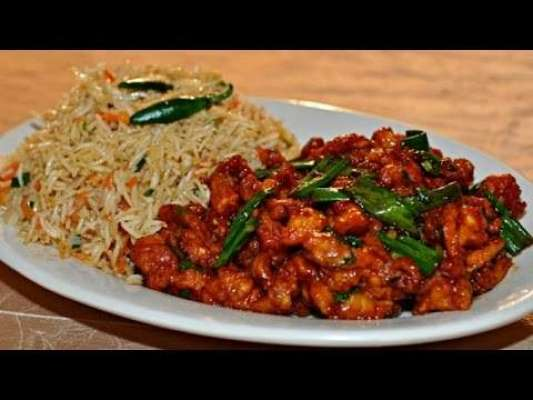 Chicken Chilli With Rice Recipe In Urdu