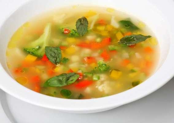 Surkh Shimla Mirch Aur Lemo Ka Soup Recipe In Urdu