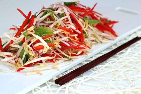 Red Bean And Mushrooms Salad Recipe In Urdu