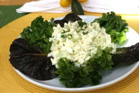 White And Green Salad Recipe In Urdu
