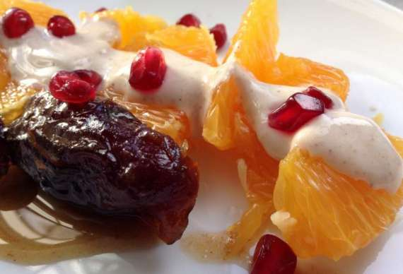 Dates And Orange Salad Recipe In Urdu