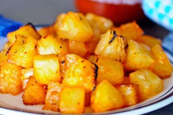 Spicy Pineapple Salad Recipe In Urdu