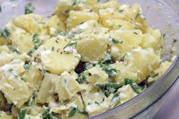 Garlic Potato Salad Recipe In Urdu