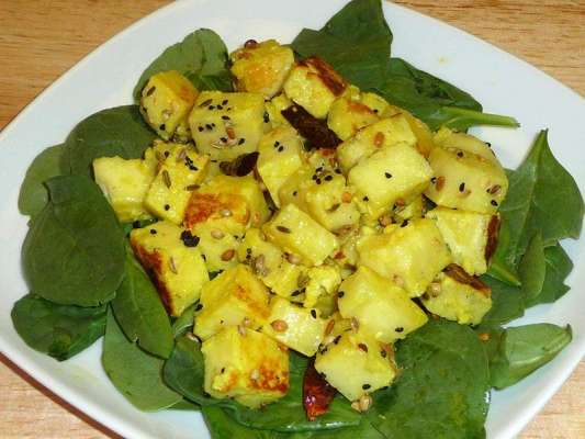 Saunf And Paneer Salad Recipe In Urdu