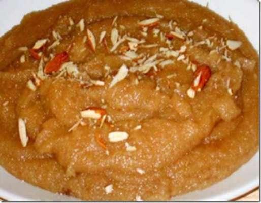 Suji Halwa  Recipe In Urdu