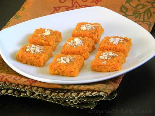 Orange Barfi Recipe In Urdu