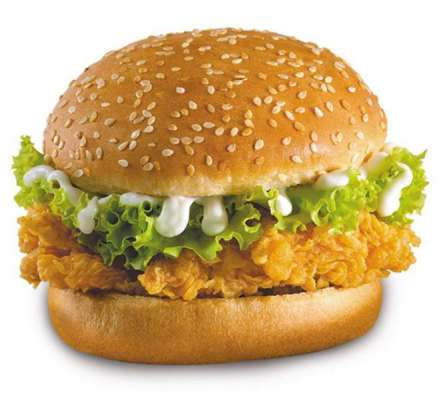 KFC Zinger Burger Recipe In Urdu