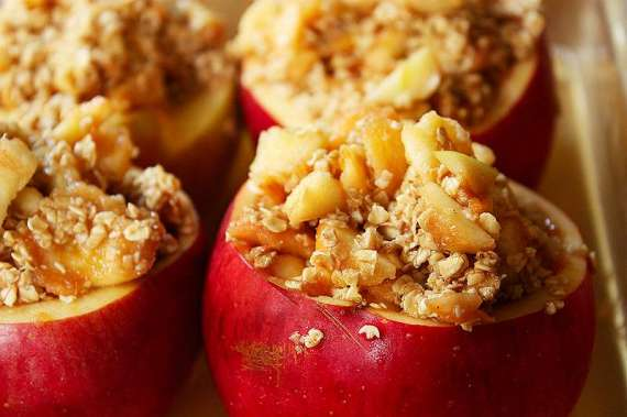 Stuffed Apple Recipe In Urdu