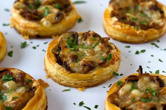 Puff Pastry With Mushroom Recipe In Urdu