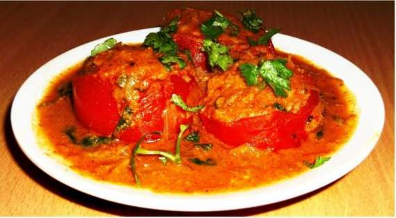Sabzi Bharay Tamatar Recipe In Urdu