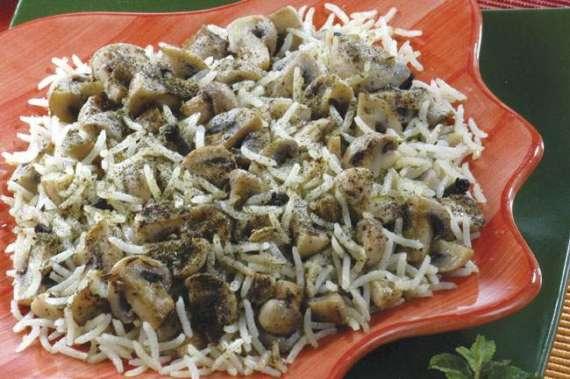 Pulao With Mushroom  Recipe In Urdu
