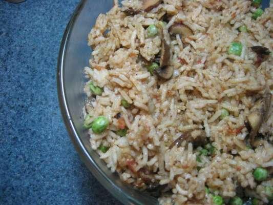 Mushroom Pulao Recipe In Urdu