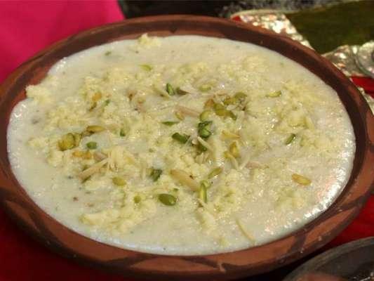 Khoye Ki Firni Recipe In Urdu