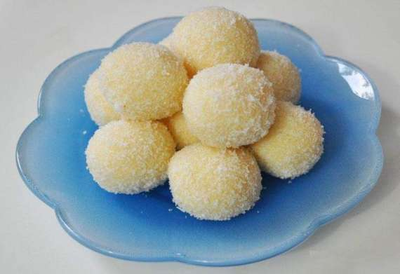 Coconut Sweet Balls Recipe In Urdu