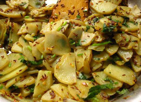 Aloo Ki Plate Recipe In Urdu