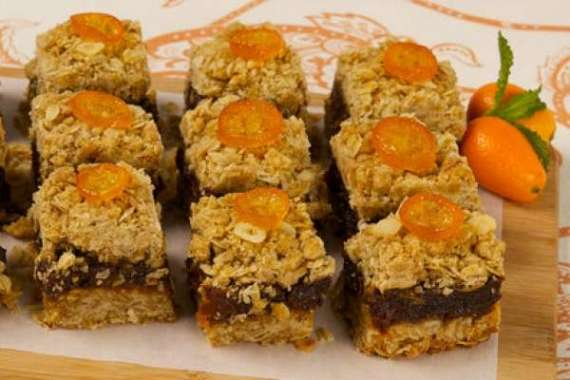 Orange Date Squares Recipe In Urdu