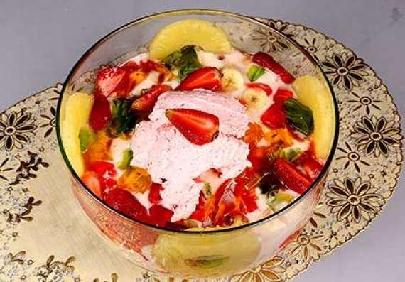 Ice Cream And Jelly Custard Recipe In Urdu