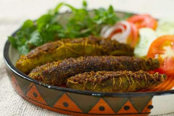 Masala Bhara Karela Recipe In Urdu