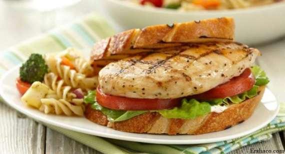 Chicken Macaroni Sandwich Recipe In Urdu