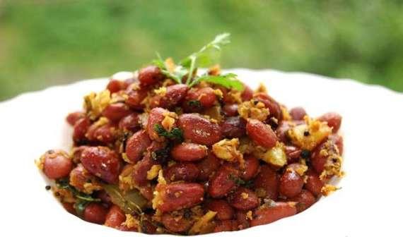 Stir Fried Red Beans Recipe In Urdu