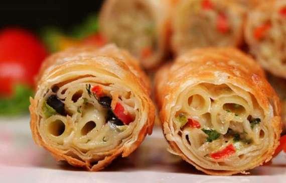Macaroni Roll Recipe In Urdu