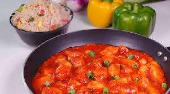 Chicken Sausage Manchurian  Recipe In Urdu