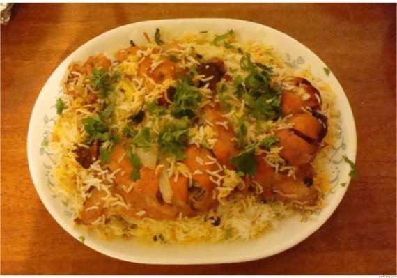 Malai Tikka Biryani Recipe In Urdu