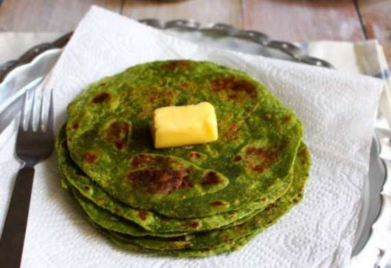 Palak Paratha Recipe In Urdu