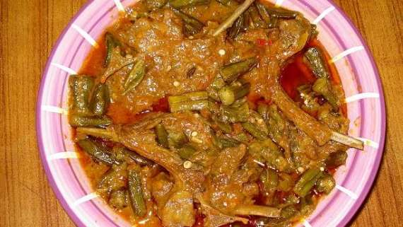 Bhindi Qorma Gosht Recipe In Urdu