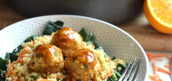 Chicken Ball With Fried Rice Recipe In Urdu