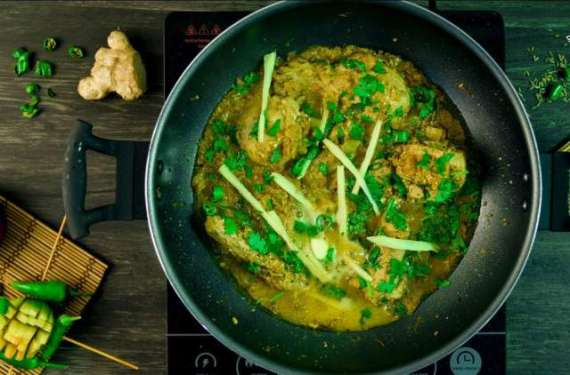Hara Masala Chicken Karahi Recipe In Urdu