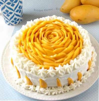 Mango Mousse Cake Recipe In Urdu