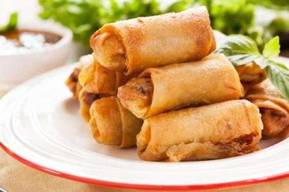 Swiss Roll Samose Recipe In Urdu