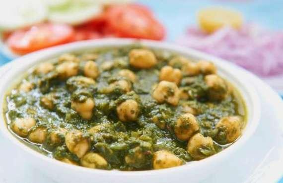 Palak Chole Recipe In Urdu