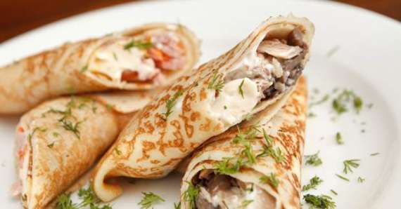 Chicken Pancakes Recipe In Urdu