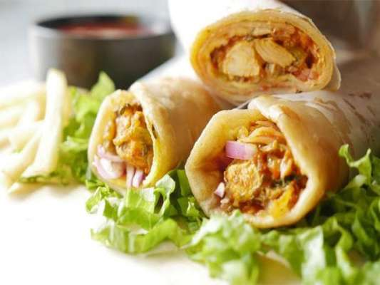 Chicken Paratha Roll Recipe In Urdu